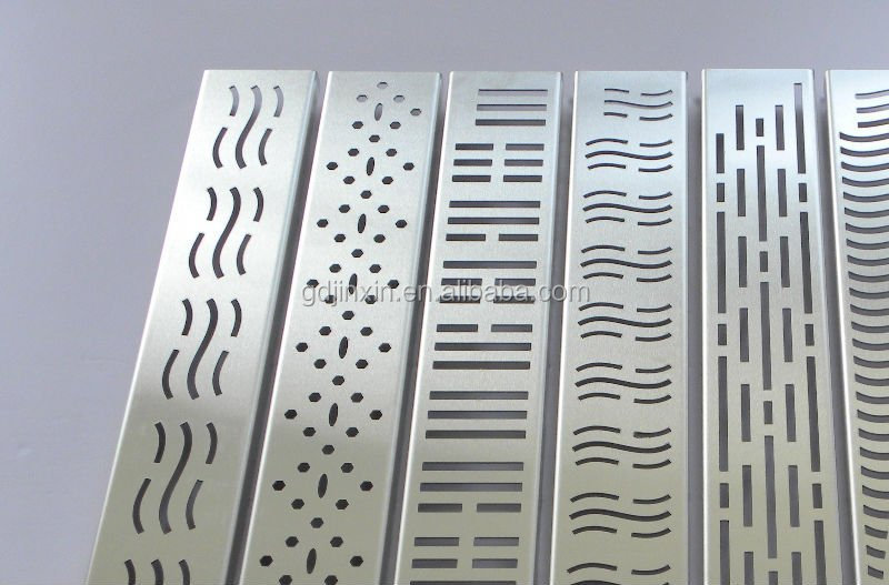 stainless steel public place floor drain steel cover