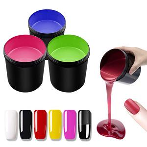 Wholesale nail supply 1000 color gel nail polish bulk 1kg uv gel