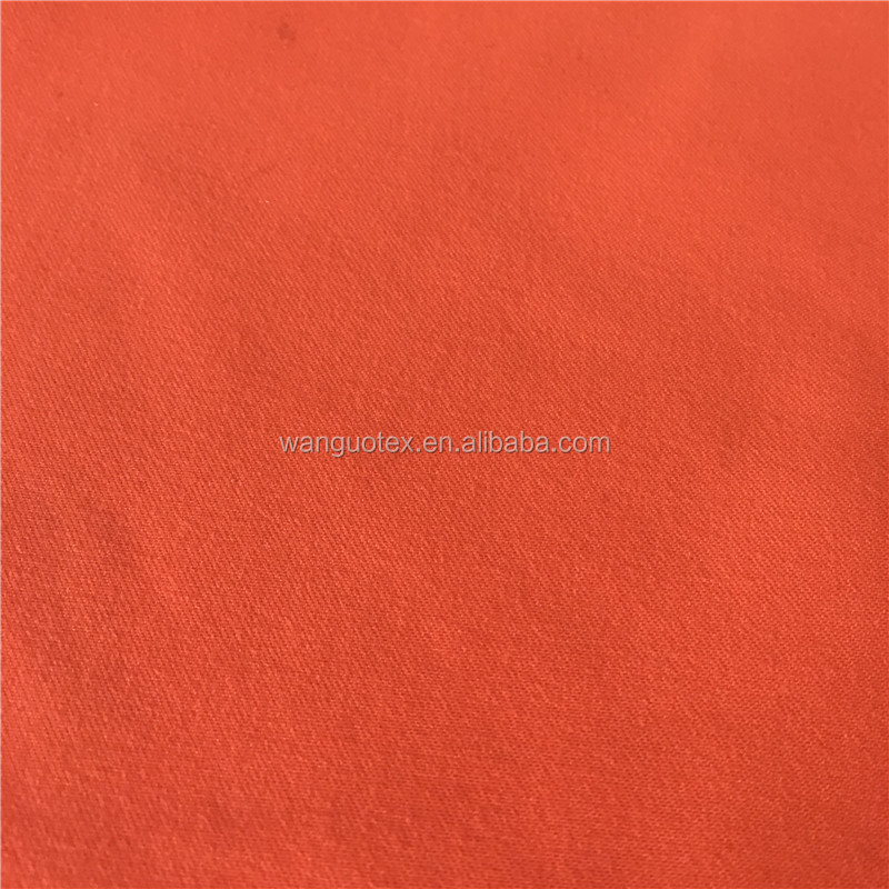 100%Polyester Twill Brushed Microfiber Peach Skin Bright Fabric for Brand Garments and Uniform