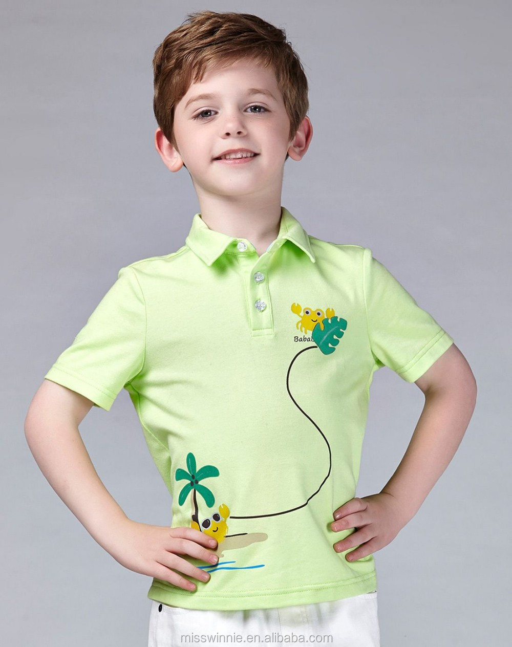 Kids Clothing Suppliers China New Custom Polo Shirt 100% Cotton ...