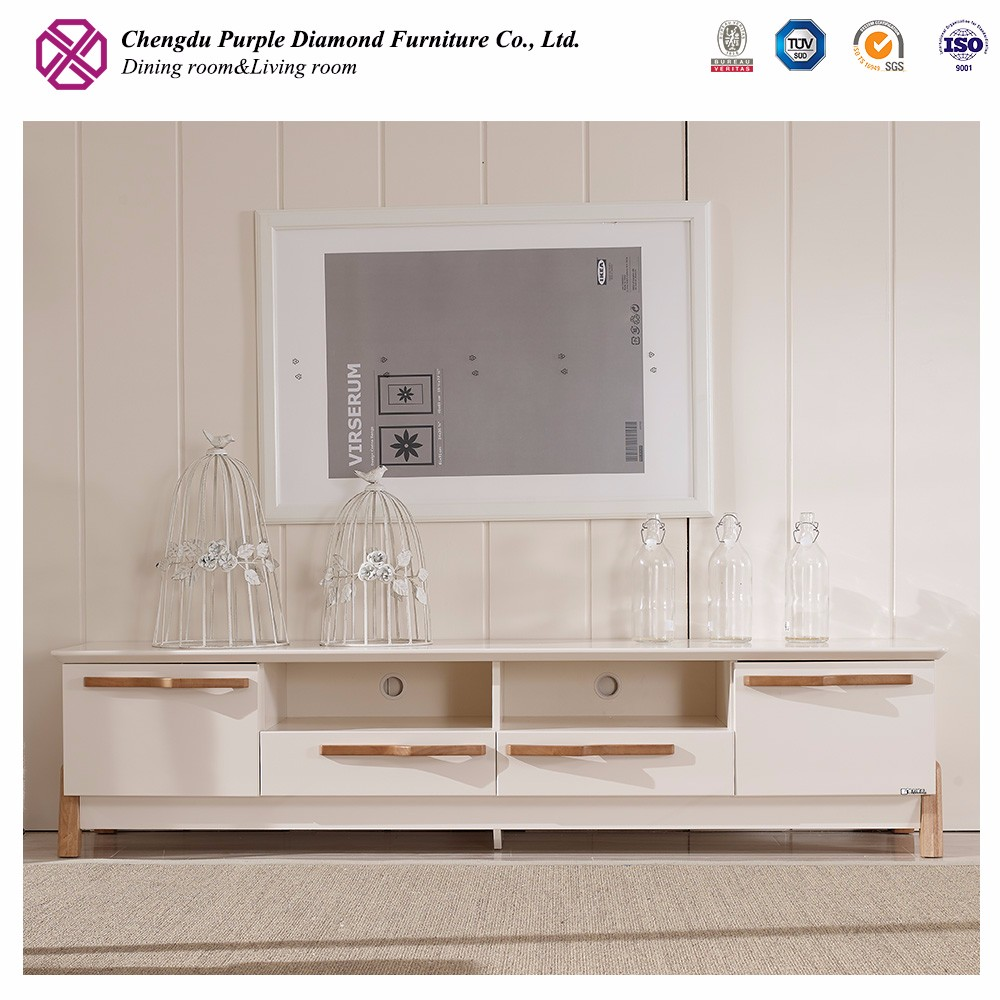 Living room furniture tv cabinet wooden corner modern tv stand