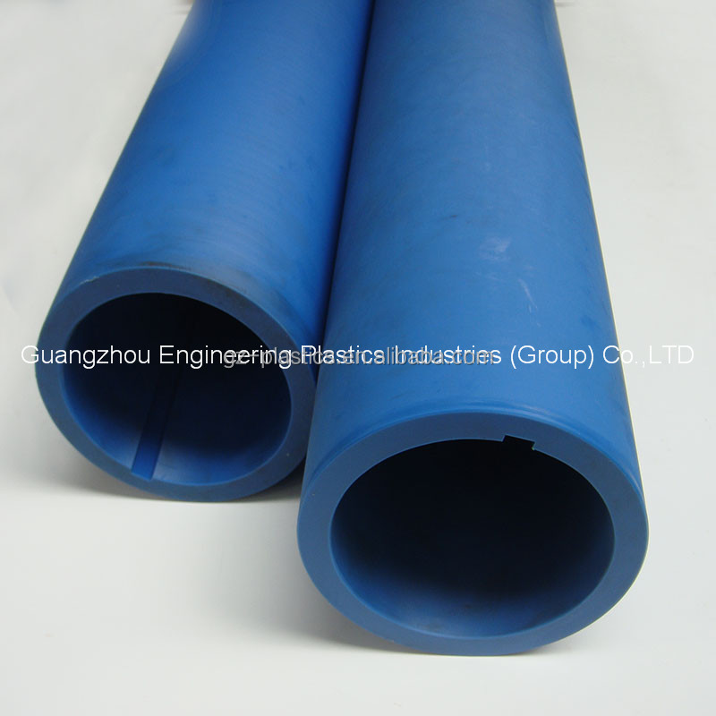 Engineering plastic products NYLATRON Nylon Nylon66 large diameter plastic pipe tube on sale