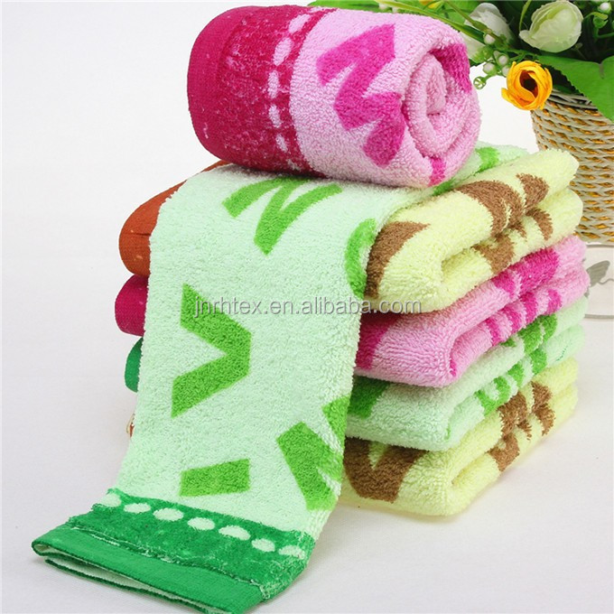 Best price 100 cotton terry ptinted shop towel for promotion