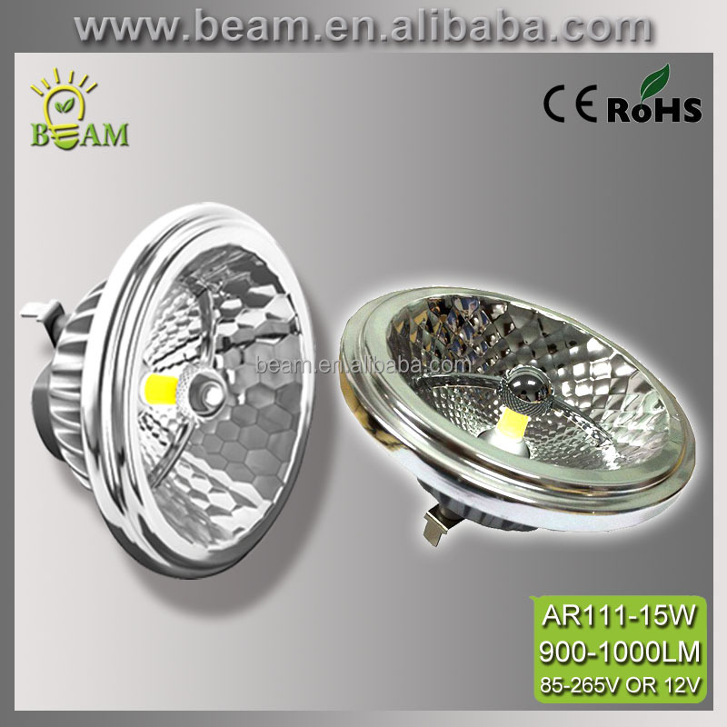 High quality cob led ar111 light,g53 lampada led lamp ar111,cob ar111