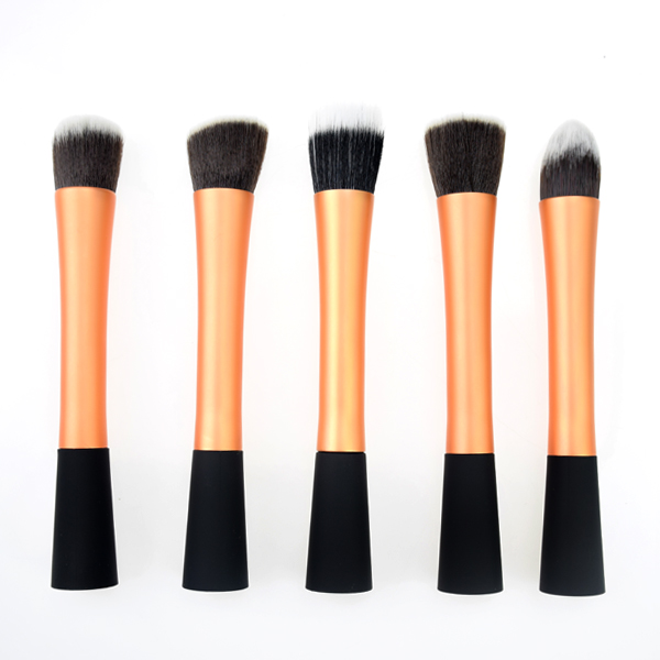 Alibaba Wholesale Small waist 5pcs makeup brushes set paypal accept