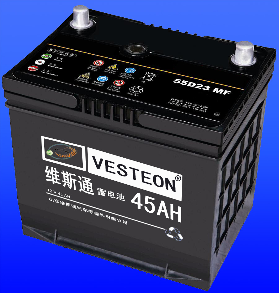Vesteon brand Maintenance free delkor battery N60 N70 with good price