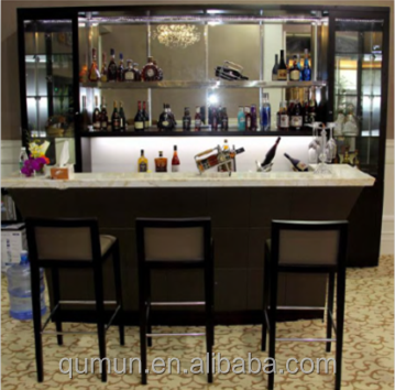 China manufacturer hospitality star luxury furniture marble bar counter