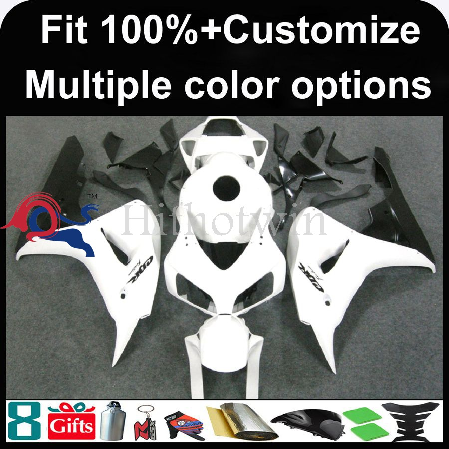 INJECTION MOLDING panels 2006 2007 CBR 1000RRED Fairing For HONDA CBR-1000 RR white Fairings 2006 2007 CBR1000RR 2006 2007 CBR1
