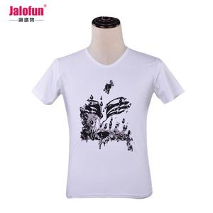 100% organic cotton custom printed tshirt ,blank tshirt 100% cotton