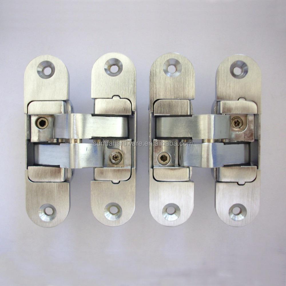 alliage de zinc 3d ajuster cacher charnière / charnière invisible