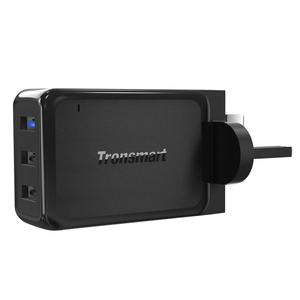 Tronsmart W3PTA 3 Port USB Charger Plate Quick Charge 3.0 Fast Mobile Phone Travel Charger With VoltiQ Tech EU US UK Adapter