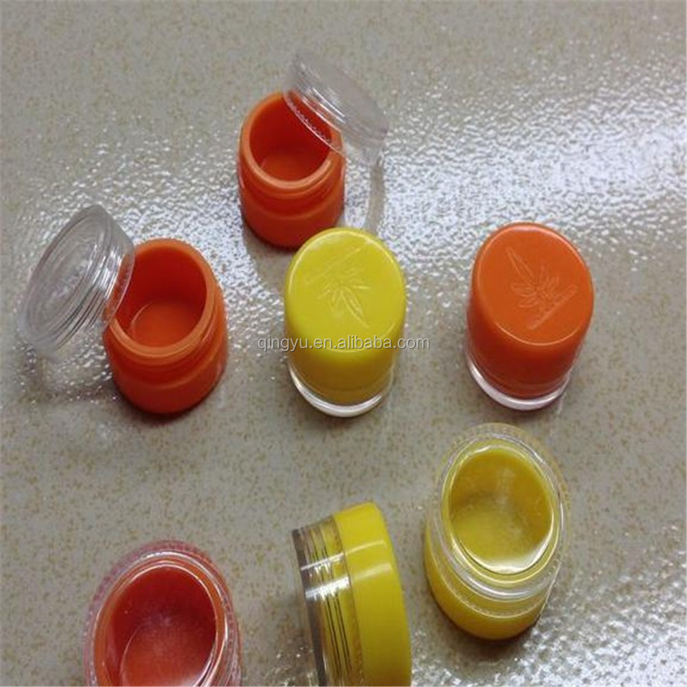 100 Silicone Dab BHO containers 5ml for wax, shatter and silicone oil Bulk jars