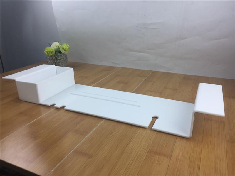 Vassoio Vasca Da Bagno : Acrilico vasca da bagno caddy vasca da bagno caddy vassoio con ipad