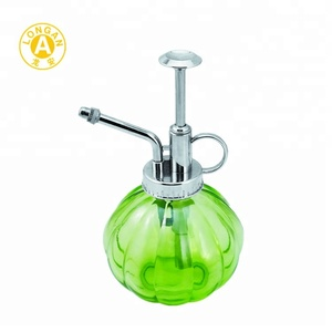 Welcome OEM ODM garden plastic glass sprayer soap dispenser with lotion pump