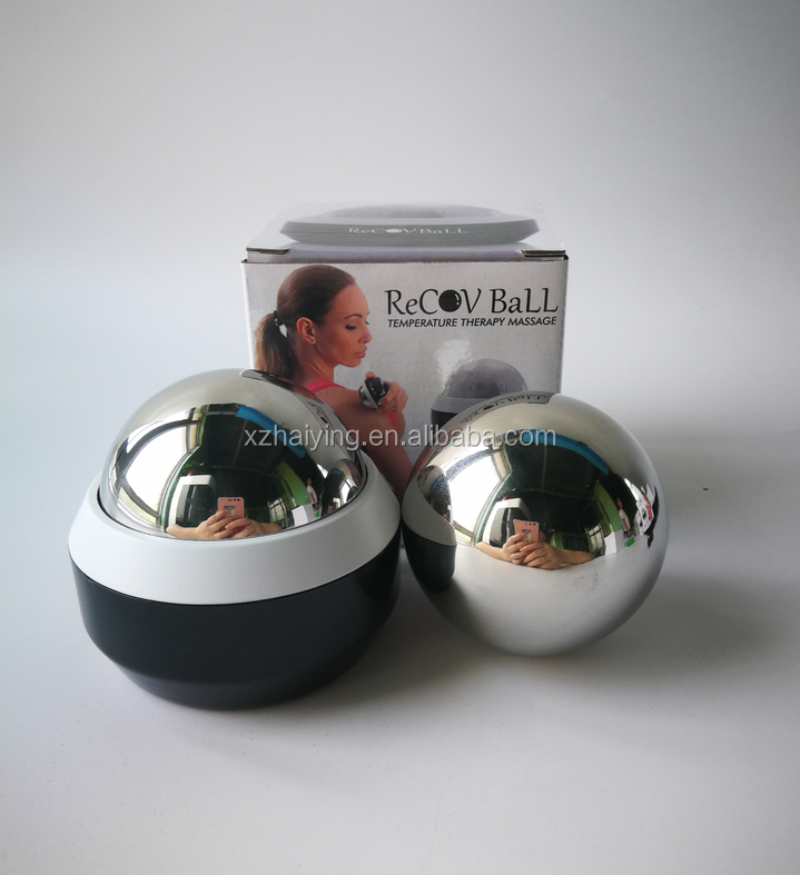Competive price face stainless steel home use massage roller ice balls