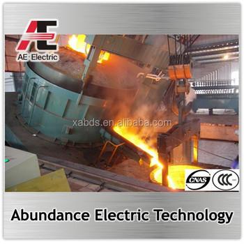 5-150 Ton Electric Arc Furnace Eaf Manufacturer Melting Furnace ...