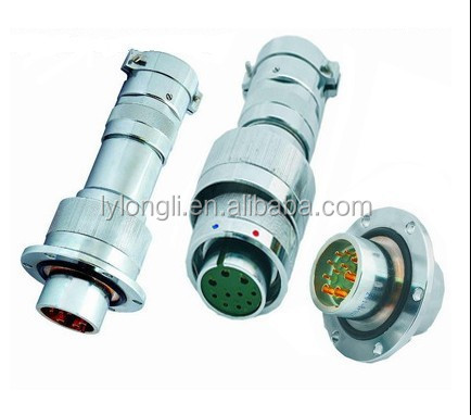YDL41 series gas sealed circular connectors/grass sintering receptacle