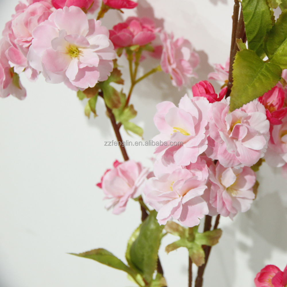 Factory cheap wholesale wedding decorative artificial cherry blossom factory cheap wholesale wedding decorative artificial cherry blossom branches silk flower for sale izmirmasajfo Image collections