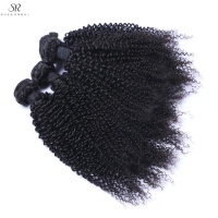 2019 top grade virgin cuticle aligned hair peruvian hair bundles with closure kinky curly