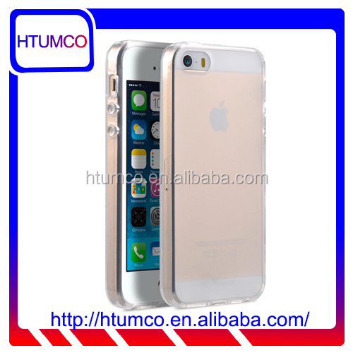 Popular Transparent Mat TPU case for Apple iPhone 5s / 5 / SE