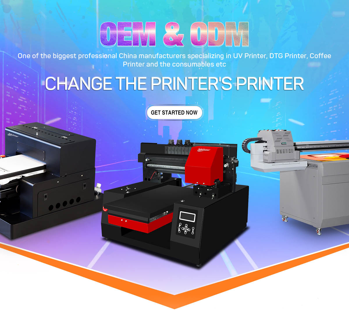 Shenzhen Jetvinner Technology Co , Ltd  - UV Printer
