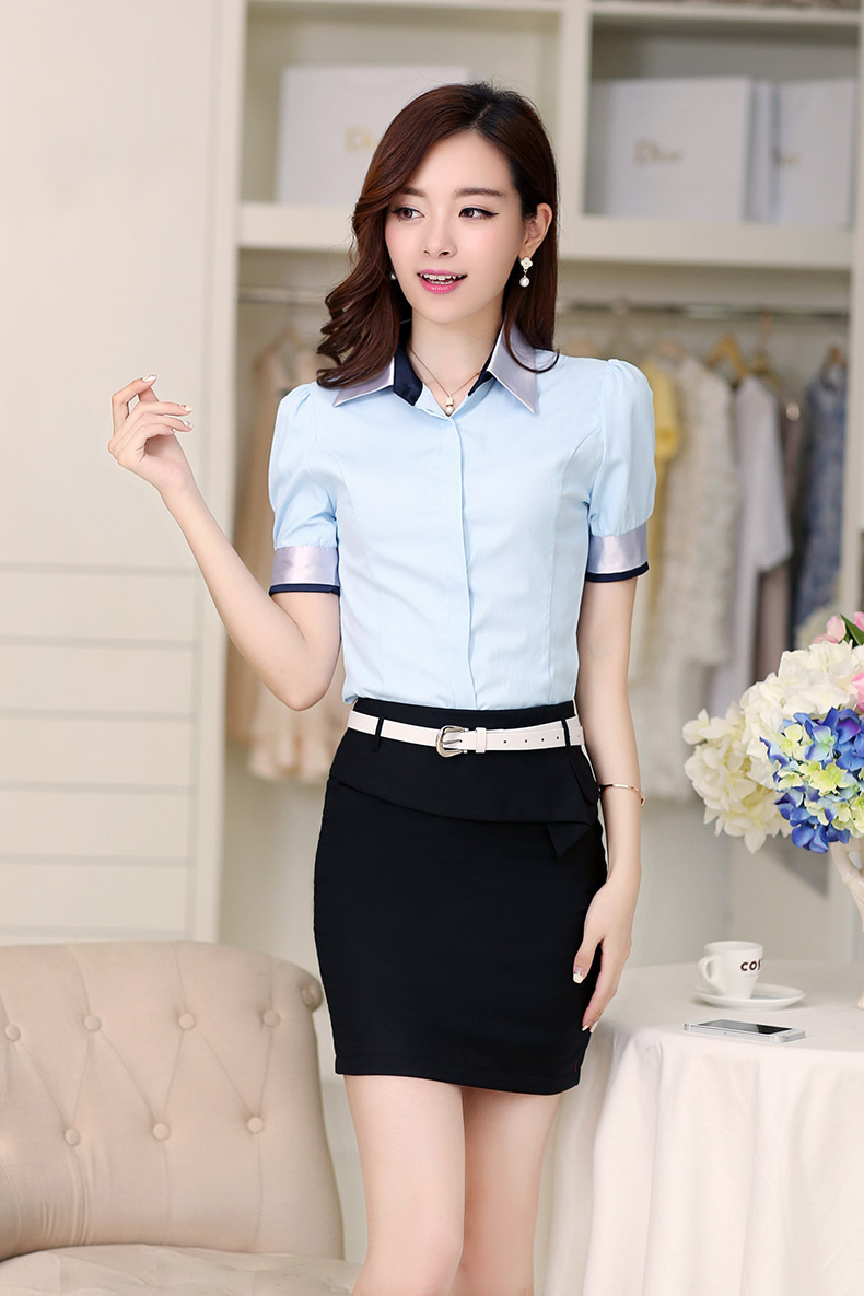 2016 new stytle work uniform ladies office office uniform for Office uniform design 2016