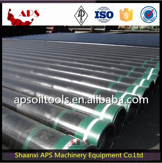 API 5CT Oilfield Casing for Steel Grade J55,K55,N80,L80 in oil and gas/Casing pipe for oil well drilling