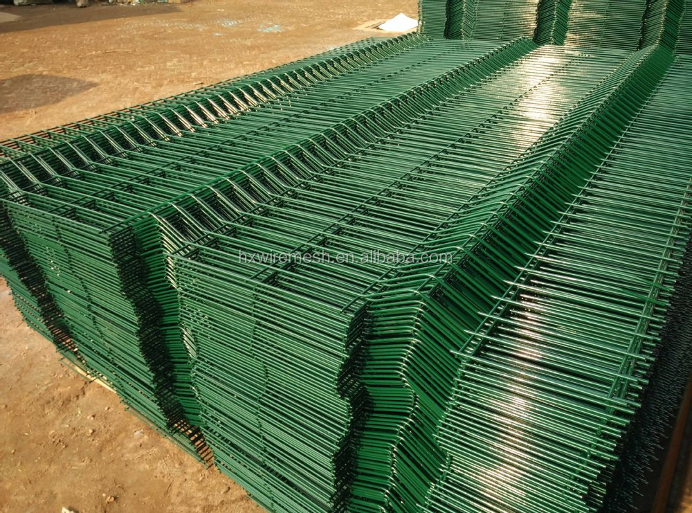 Cheap Vinyl Coated Welded Fence / Pvc White 3d Wire Mesh Fencing ...