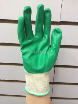 Hand Gloves Manufacturers In China Work Nitrile Coated Safety ...