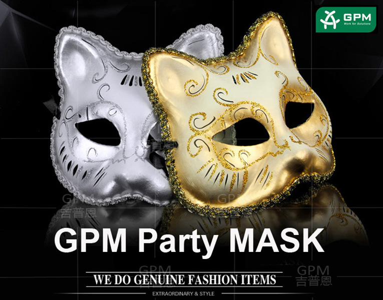 Halloween Customize Made Half Face Latex Animal Mask