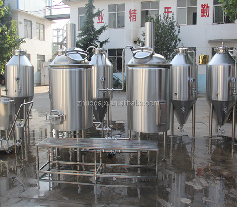 50L 100L 200L 300L 500L 1000L stainless steel mash tun electric/ insulated beer brewing machines
