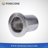 concrete pump spare parts small end shaft sleeve / wear sleeve for Zoomlion concrete boom pump