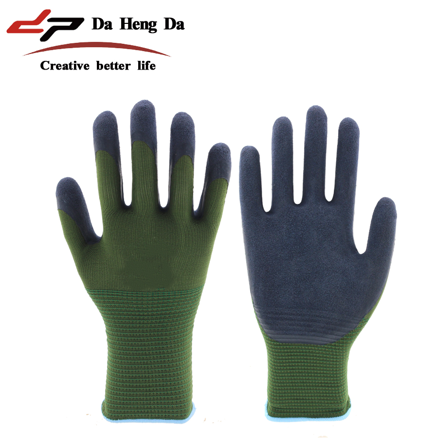 Autumn and winter thickening waterproof anti-thorn anti-stick coating wear-resistant non-slip garden gloves