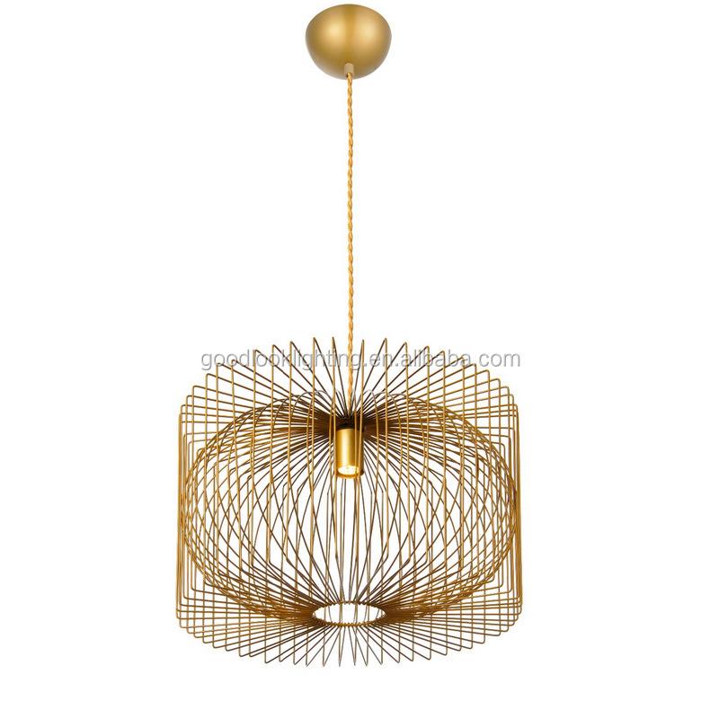 c)ul & Etl Listed Modern Metal Wire Pendant Chandelier Lighting ...