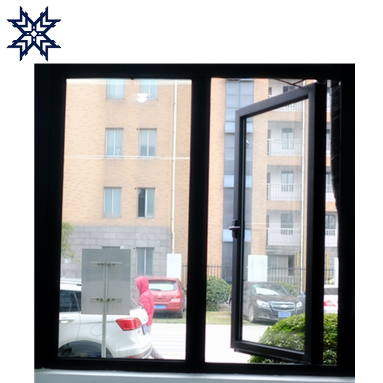 Thermal broken aluminum double glass awning windows on sale
