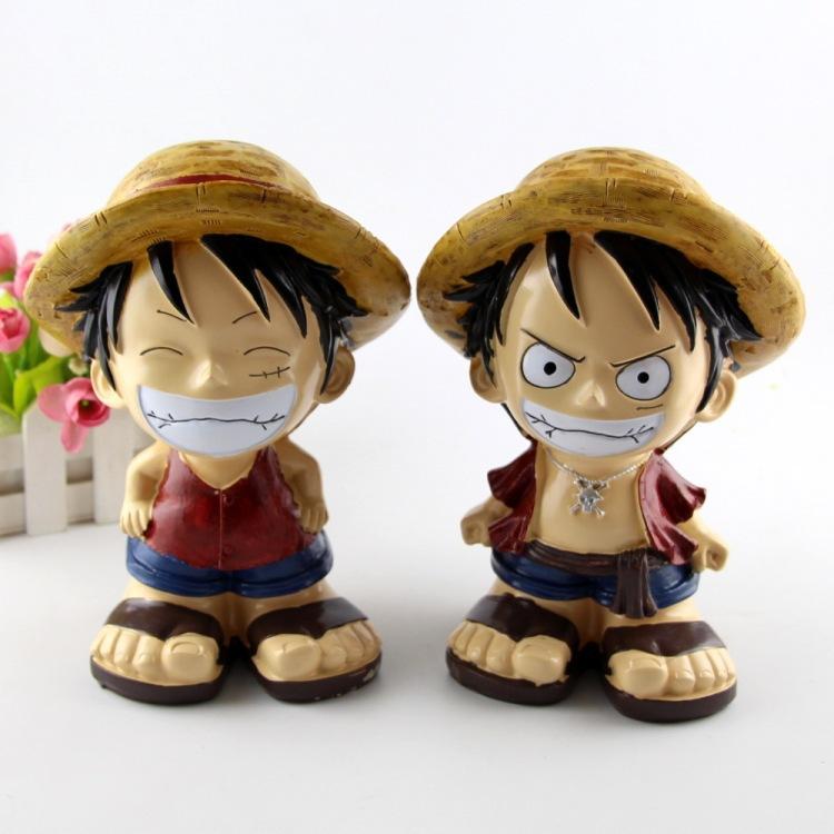 De resina Japón Anime una pieza mono D Luffy figura de acción de juguete