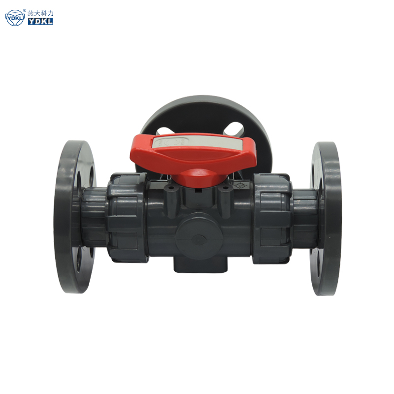 U-PVC 3 way valves from professional plastic plumbing supplier