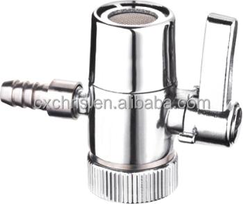 Rubinetto Deviatore A Sfera.Rubinetto Deviatore 1 4 3 8 1 2 Deviatore Per Filtro Acqua Due Vie