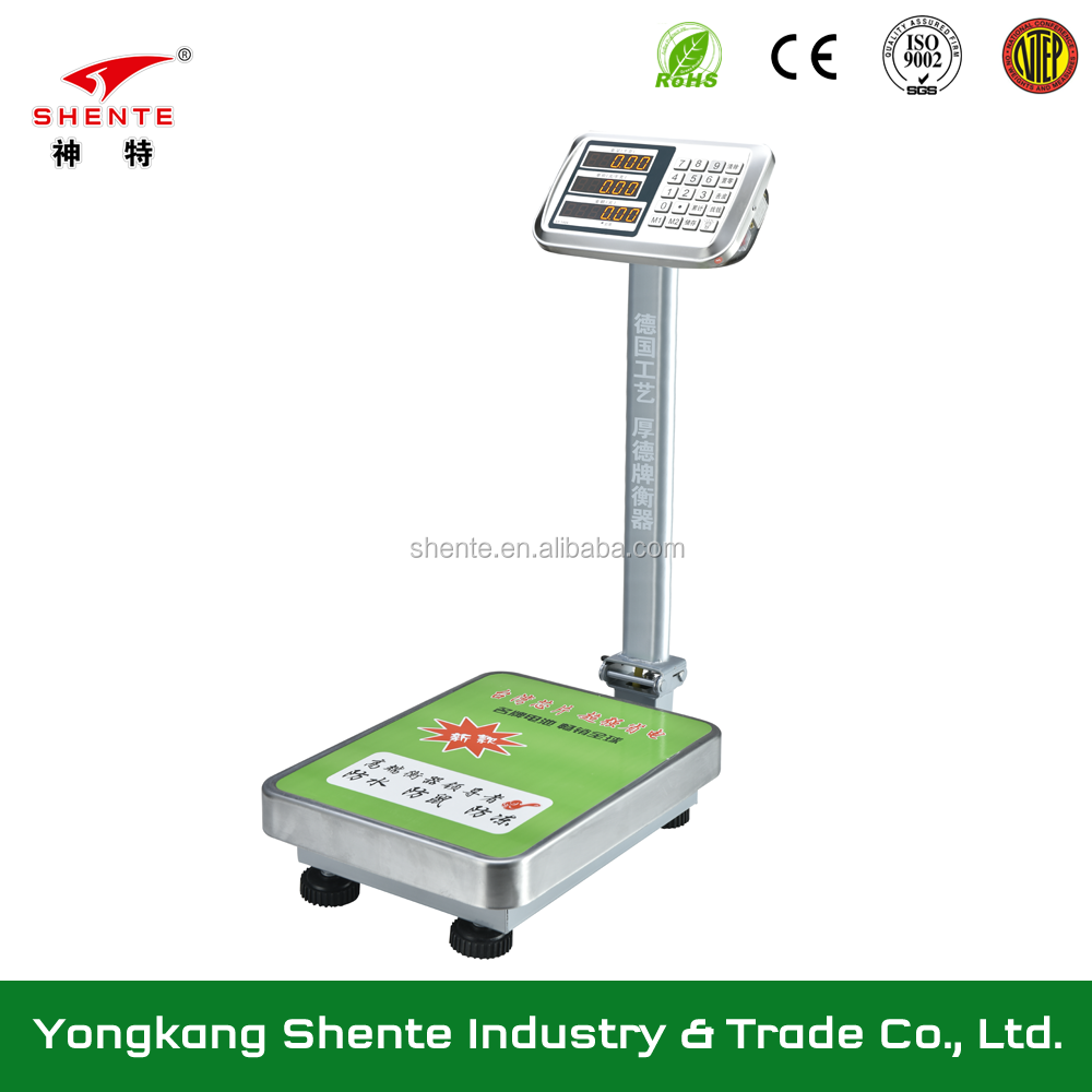 300kg Digital Weighing TCS Electronic Platform Scale
