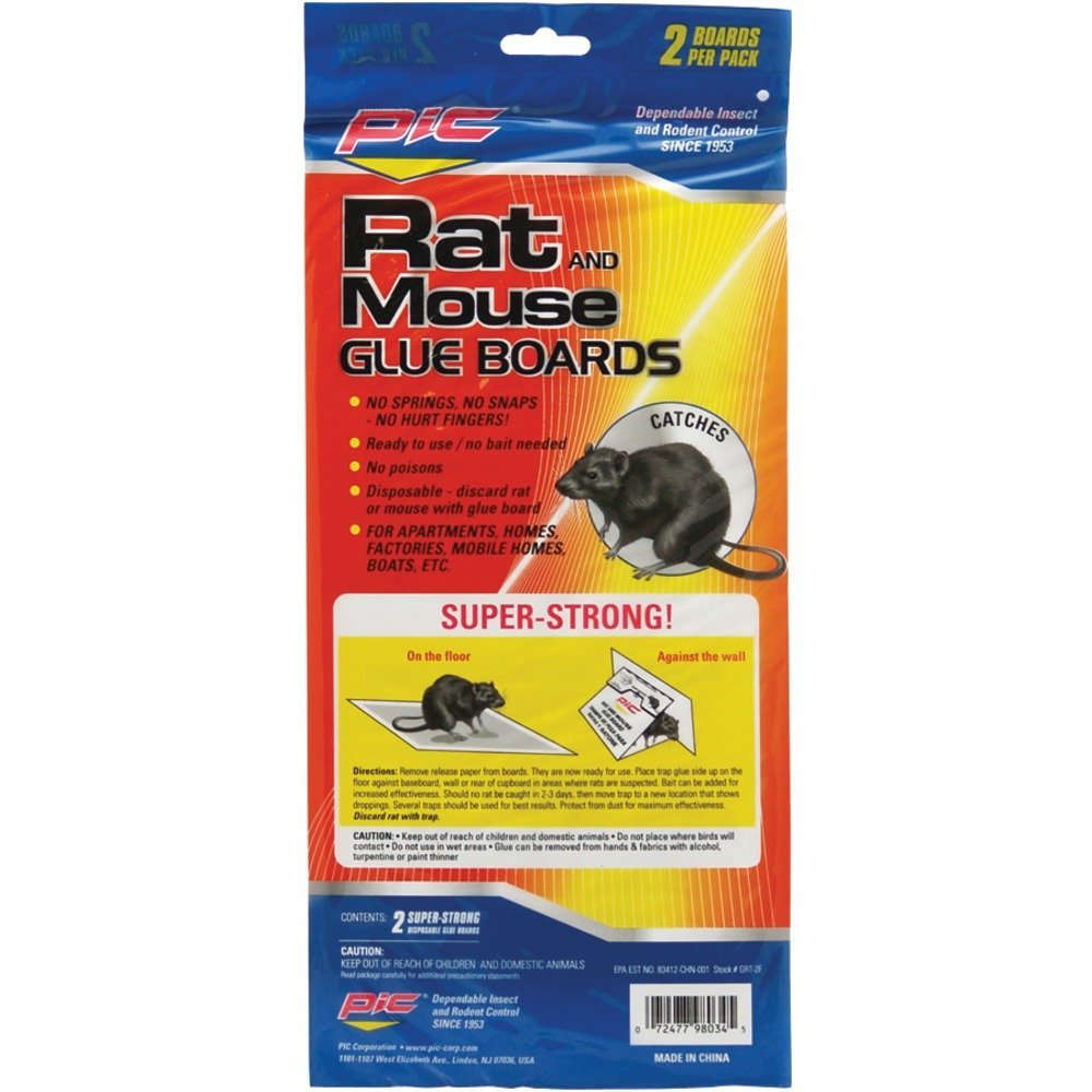 PIC GRT2F Glue Rat Boards, 2 pk Home, garden & living