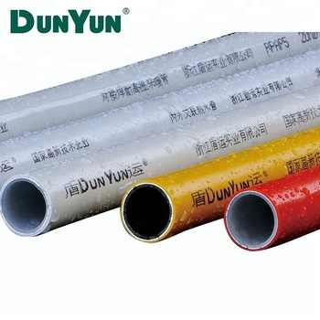 High Quality Multilayer 16mm pex al pex pipe insulated plastic yellow pex pipe for natural gas