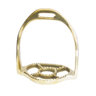 Brass Baroque Horse Stirrups