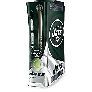 NFL New York Jets Xbox 360 (Includes HDD) Skin - New York Jets Vinyl Decal Skin For Your Xbox 360 (Includes HDD)
