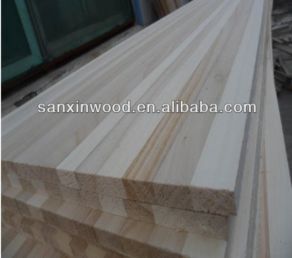 Produce paulownia wood for unfinished wood snowboard