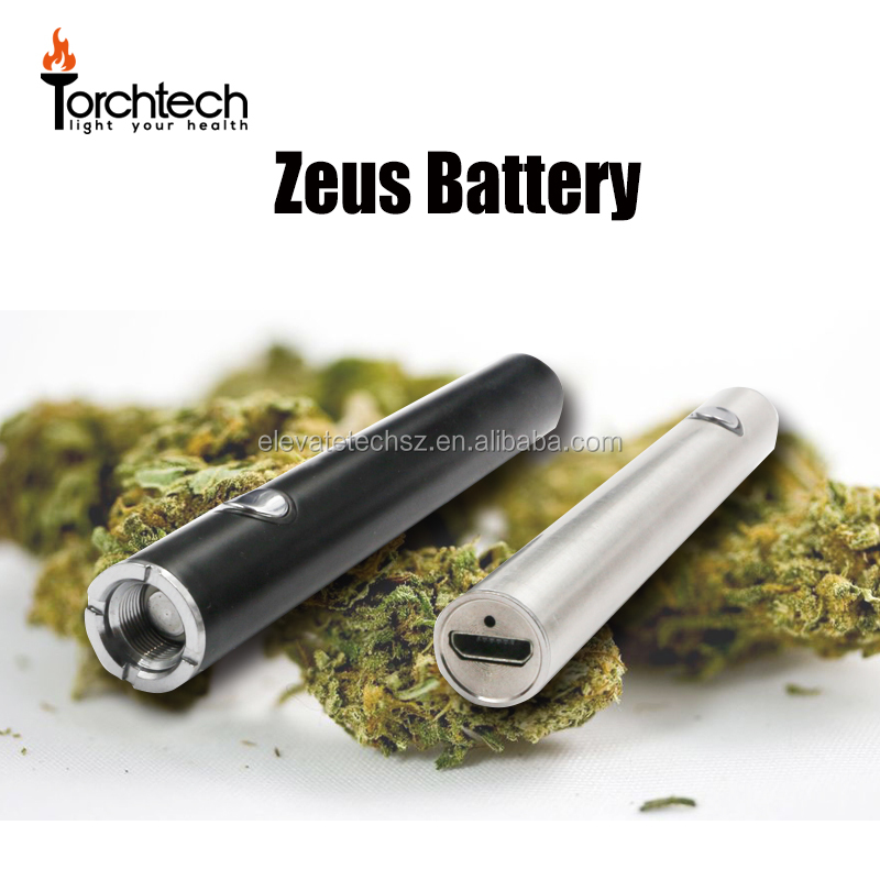 Hottest sell Thick Cbd Hemp Oil Micro-Charging Vape pen Button Rechargeable Battery pen