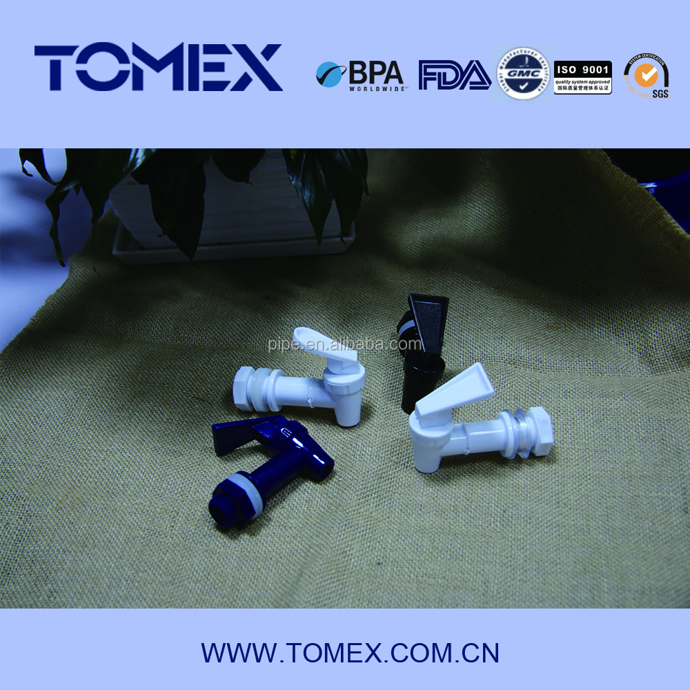TOMEX Cheap Plastic faucets for drinking water and beer