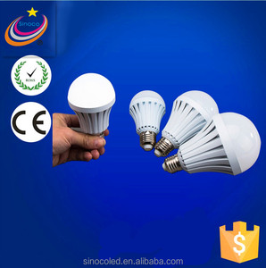 Auto Charging LED Emergency Light Bulb Power Outage Emergency LED Bulb