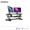 Cheap Height Adjustable Office Sit Stand Laptop Computer Standing Desk Riser with Keyboard Special offer