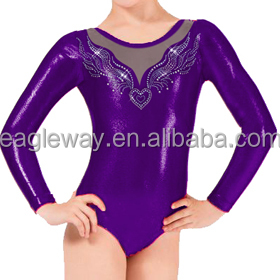121470f19233 Wholesale Child Rhinestone Gymnastics Leotards - Buy Gymnastics ...