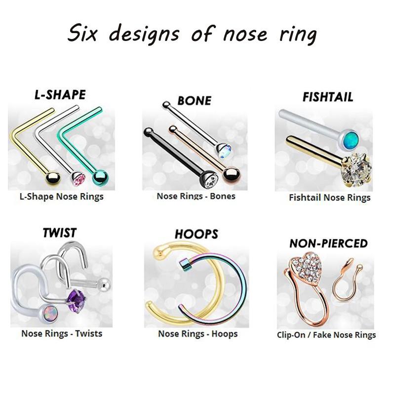 Dar Titanium Nose Segment Ring Node Hoop Ring14g 16g Buy Segment